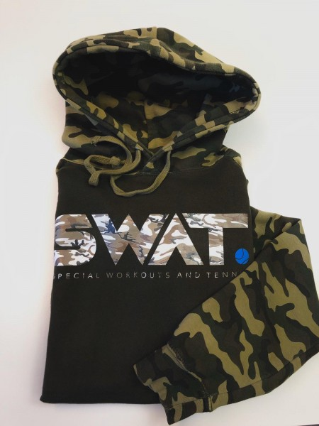 SWAT Unisex Camo Hoodie grün