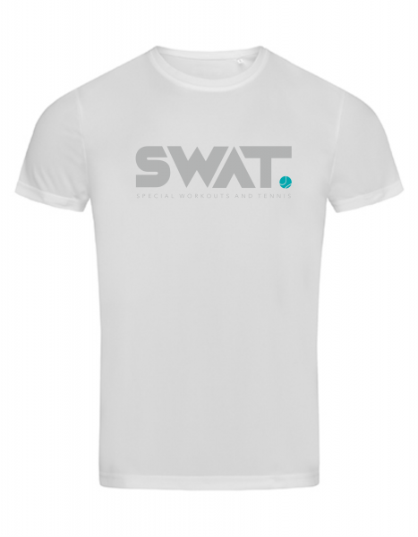 SWAT Unisex Performance Sportshirt weiß