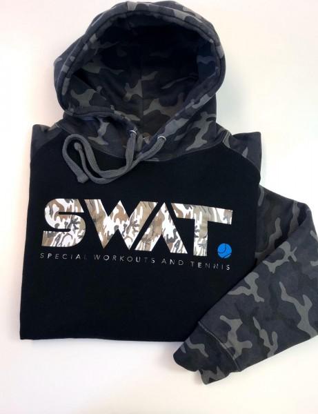 SWAT Unisex Camo Hoodie grau